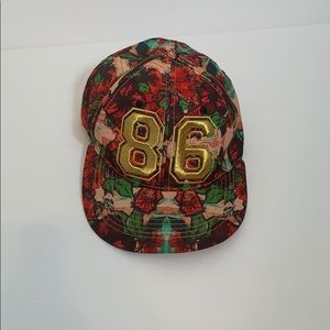 Carbon Elements 86 Flowered Cap